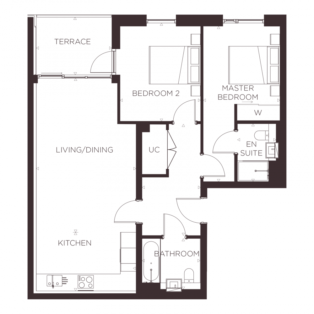 2 bed apartment for sale in Pimlico   17   Ebury Place